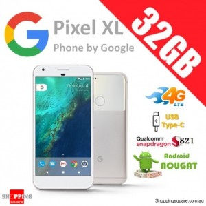 Google Pixel XL 32GB 4G LTE Unlocked Smart Phone Very Silver