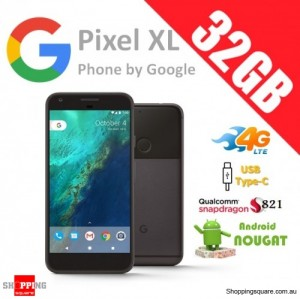 Google Pixel XL 32GB 4G LTE Unlocked Smart Phone Quite Black
