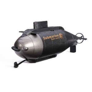 RC Happycow 777-216 Simulation Series Boat Submarine Ship Toy for Water Black Colour