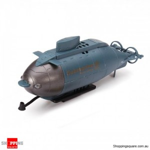 RC Happycow 777-216 Simulation Series Boat Submarine Ship Toy for Water Blue Colour