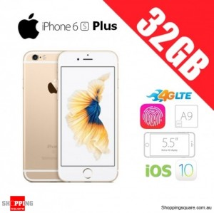 Apple iPhone 6s Plus 32GB 4G LTE 5.5 inches Unlocked Smart Phone Gold