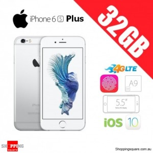 Apple iPhone 6s Plus 32GB 4G LTE 5.5 inches Unlocked Smart Phone Silver