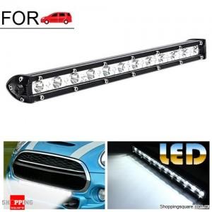 13 Inch 36W White LED Spot Flood Work Offroad Bar Light Lamp Combo for Driving