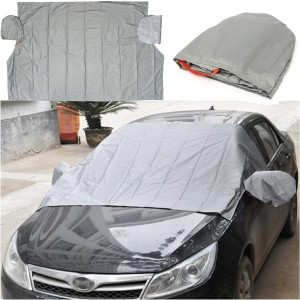 Magnetic Car Cotton Windscreen Window Mirror Protector Cover for Anti Snow Frost Ice