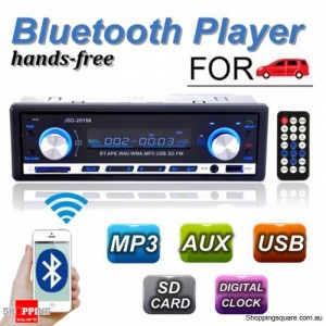 JSD-20158 Multifunctional Bluetooth Stereo  Vehicle Car Automobile MP3 Player With FM Radio