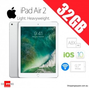 Apple iPad Air 2 32GB 9.7inch WiFi Tablet Silver