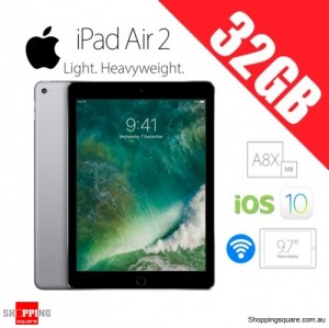 Apple iPad Air 2 32GB 9.7inch WiFi Tablet Space Gray