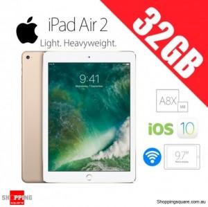 Apple iPad Air 2 32GB 9.7inch WiFi Tablet Gold