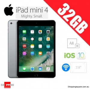 Apple iPad Mini 4 32GB WiFi Tablet Space Grey