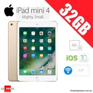 Apple iPad Mini 4 32GB WiFi Tablet Gold
