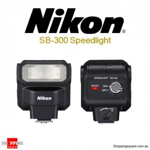 Nikon SB-300 AF Speedlight Flash Light Flashgun Shoe Mount for Digital Cameras DSLR