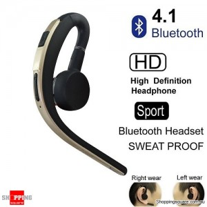 Wireless Bluetooth V4.1 Sports Headset for iPhone Samsung Gold Colour