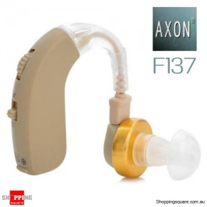 AXON F-137 Digital Hearing Aids Sound Amplifier Earplug with Adjustable Volume