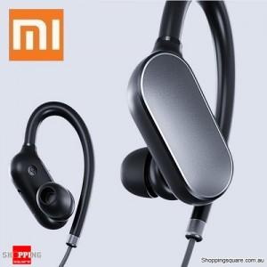Original Xiaomi Wireless Bluetooth Sport In-ear Earhooks Headset Earphone with Mic Black Colour
