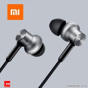 Xiaomi Hybrid Pro Three Drivers Graphene Earphones Headphones with Mic for Android iPhone Silver Colour