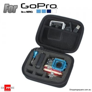 EVA Shockproof Case Bag Box Accessories for GoPro SJ4000 SJ5000 Sport Camera Size S