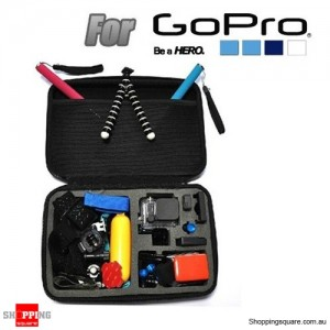EVA Shockproof Case Bag Box Accessories for GoPro SJ4000 SJ5000 Sport Camera Size L