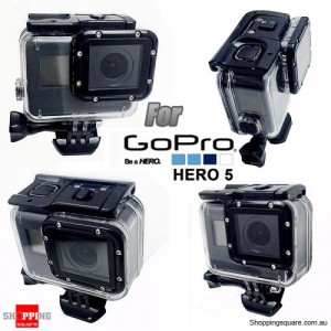 Waterproof Protective Case Housing Accessory for GoPro Hero 5 Camera for Diving