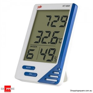 LCD Digital Temperature Humidity Meter Thermometer for Indoor or Outdoor Home Office