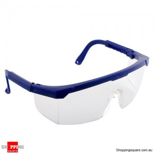 Safety Goggles Glasses Eye Protection Need for Dust Paint Nerf Outdoor Games Blue Colour