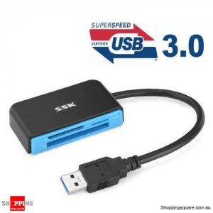 All In One USB 3.0 Multi Memory Card Reader CF Micro SD HC SDXC TF