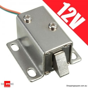 12V DC Electric Solenoid Lock for Cabinet Door Drawer