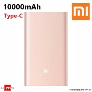 2016 New Genuine Xiaomi 10000mAh Both-way QC2.0 Quick Charge Type-C Power Bank Pro For iPhone Samsung LG Gold Colour