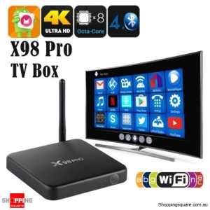 X98 PRO Amlogic S912 Octa Core 2GB RAM 16GB ROM TV Box with Android 6.0 Bluetooth 4.0