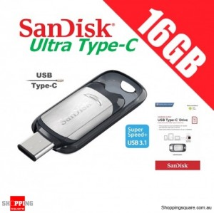 SanDisk Ultra 16GB USB Type-C Flash Drive USB 3.1 Phone Tablet Computer 130MB/s