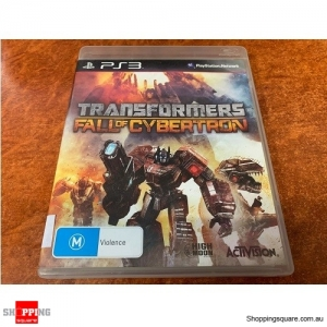 Transformers Fall Of Cybertron for PS3(Pre-Owned)