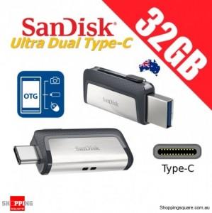 SanDisk Ultra Dual Drive 32GB USB Type-C USB 3.1 Smartphone Tablet PC 150MB/s