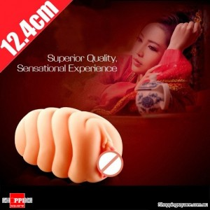 7.8X12.4CM Loveaider Flesh Colour Realistic Vagina Mould Masturbation Cup For Men Adult Sex Toy