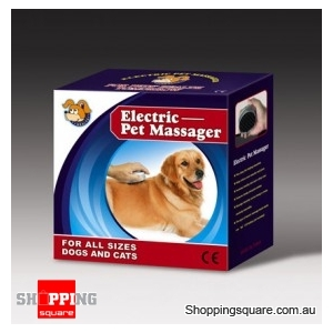 Electronic Pet Massager