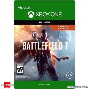 Battlefield 1 For Xbox One - Download Code only