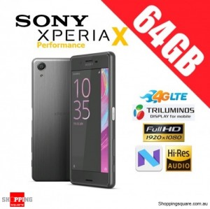Sony Xperia X Performance 64GB F8132 4G LTE Unlocked Smart Phone Black
