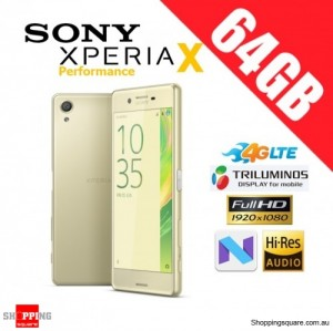 Sony Xperia X Performance 64GB F8132 4G LTE Unlocked Smart Phone Lime Green
