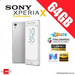 Sony Xperia X Performance 64GB F8132 4G LTE Unlocked Smart Phone White