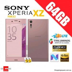 Sony Xperia XZ 64GB F8332 Dual Sim 4G LTE Unlocked Smart Phone Deep Pink