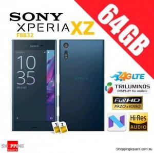 Sony Xperia XZ 64GB F8332 Dual Sim 4G LTE Unlocked Smart Phone Forest Blue