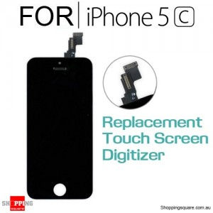 LCD Touch Screen Replacement Digitizer for iPhone 5C Black Colour