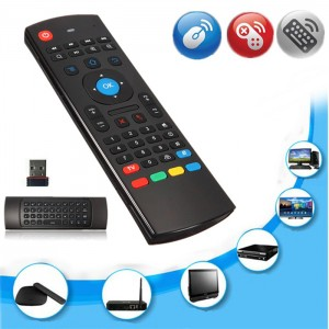 2.4GHz Wireless Keyboard Fly Air Mouse Motion Sensor Remote Control for TV Box Smart TV PC