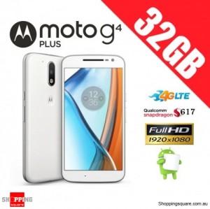 Motorola Moto G4 Plus 32GB XT1642 Unlocked Smart Phone White