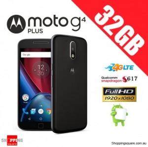 Motorola Moto G4 Plus 32GB XT1642 Unlocked Smart Phone Black