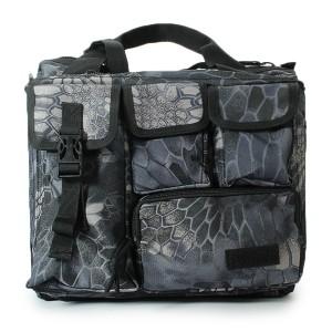 Men's Tactical Multifunctional Laptop Camera Mochila Messenger Bag for Travel Outdoor Sport Bag Bluish Grey Colour No. 1