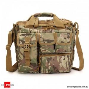 Men's Tactical Multifunctional Laptop Camera Mochila Messenger Bag for Travel Outdoor Sport Bag CP Colour