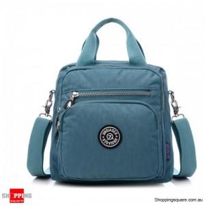 Waterproof Outdoor Multifunctional Light Handbag Shoulder Crossbody Bag Light Blue Colour