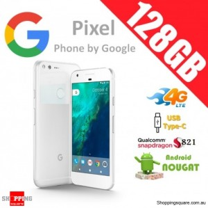 Google Pixel 128GB G-2PW4200 4G LTE Unlocked Smart Phone Very Silver