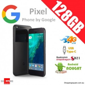 Google Pixel 128GB G-2PW4200 4G LTE Unlocked Smart Phone Quite Black
