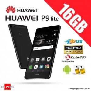 Huawei P9 Lite 16GB VNS-L22 Dual Sim 4G LTE Unlocked Smartphone Black