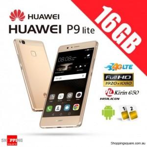 Huawei P9 Lite 16GB VNS-L22 Dual Sim 4G LTE Unlocked Smartphone Gold
